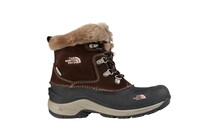 The North Face Girl's McMurdo Boot brownie brown/pink lemonade